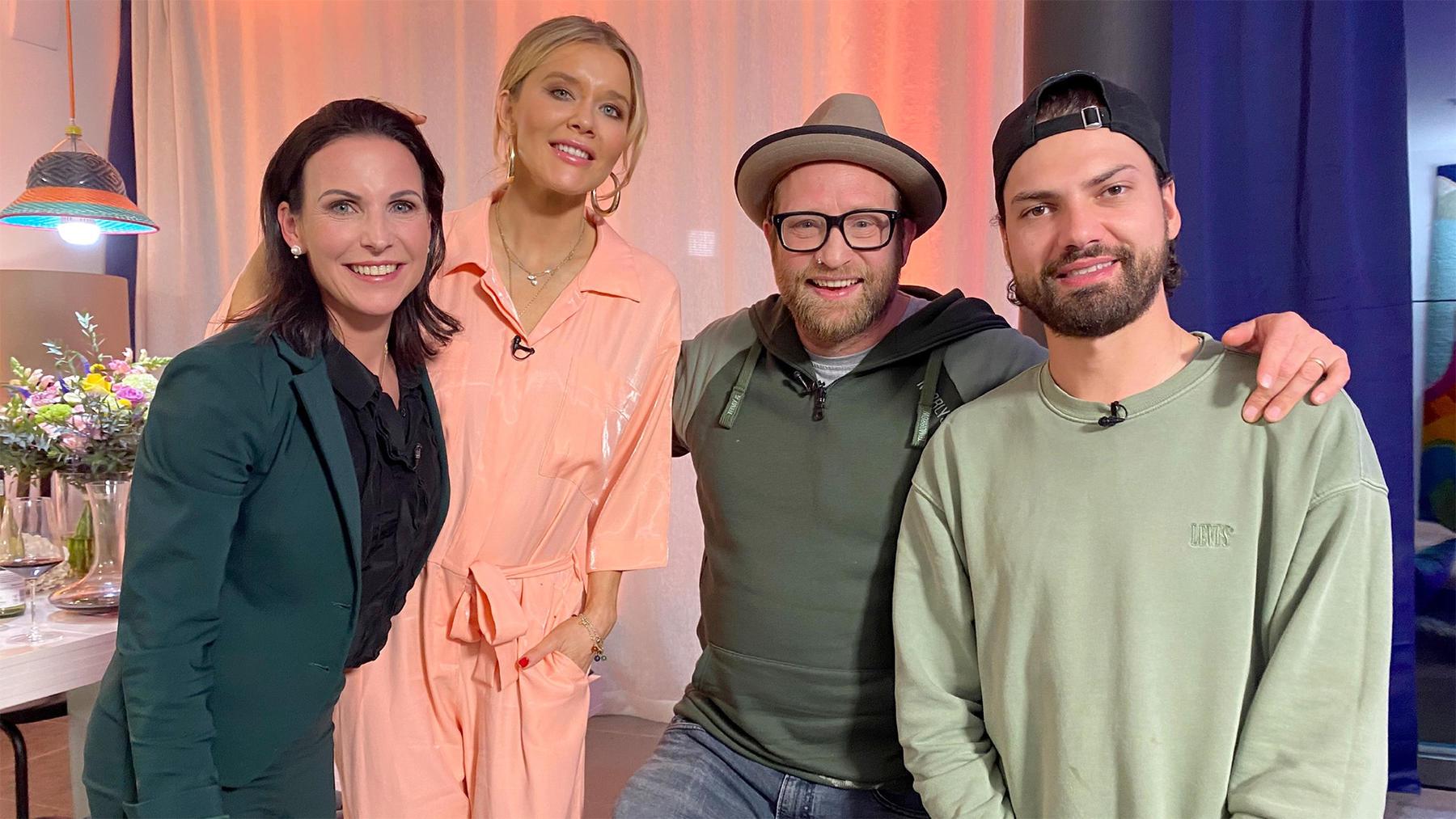 Folge 1: Gregor Meyle, Laura Karasek, Sabrina Mockenhaupt, Jimi Blue Ochsenknecht