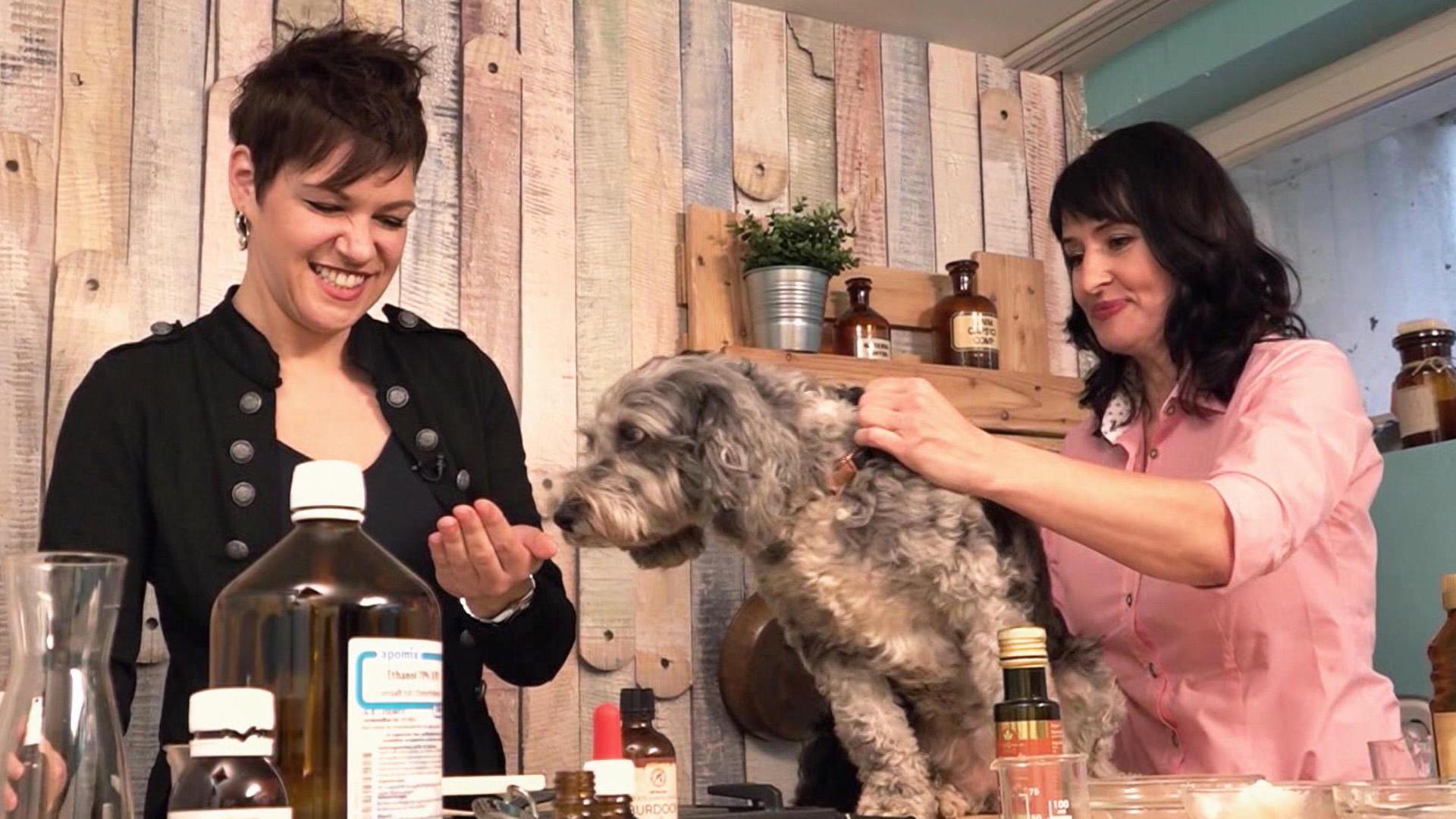 Thema u.a.: Zu Besuch bei Kräuter-und Kosmetikexpertin Melanie Wenzel
