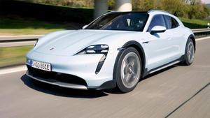 Thema u.a.: Der Porsche Taycan Cross Turismo