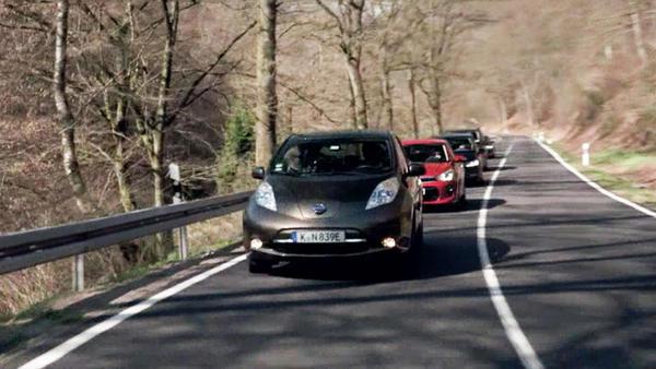 Thema u.a.: Fahrbericht: Nissan Leaf Dauertester