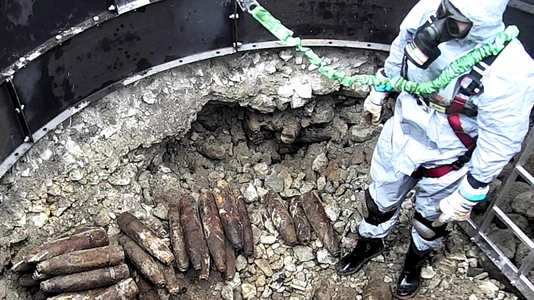 Gefährliches Erbe - Kampfstoff-Müll im Untergrund