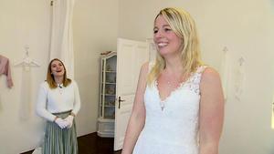 Brautkleid nach Wunsch des Verlobten