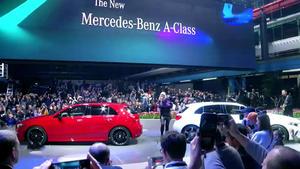 Thema u.a.: Weltpremiere der Mercedes A-Klasse