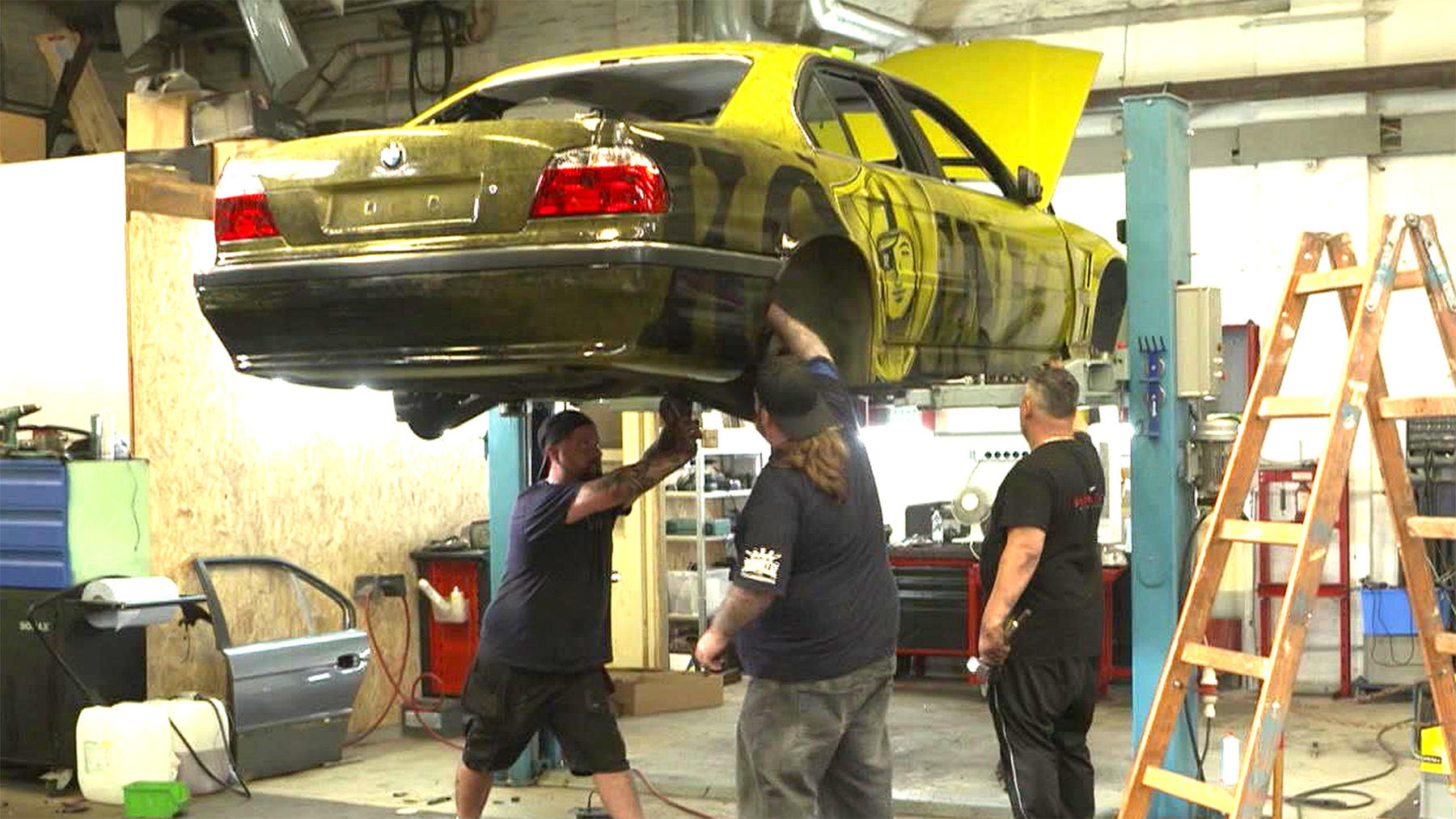 Heute: Tuning Profis BMW 7er