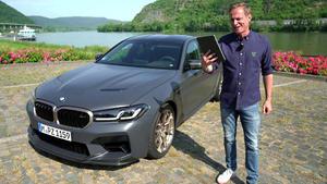 Alles, was man über den neuen BMW M5 CS wissen muss
