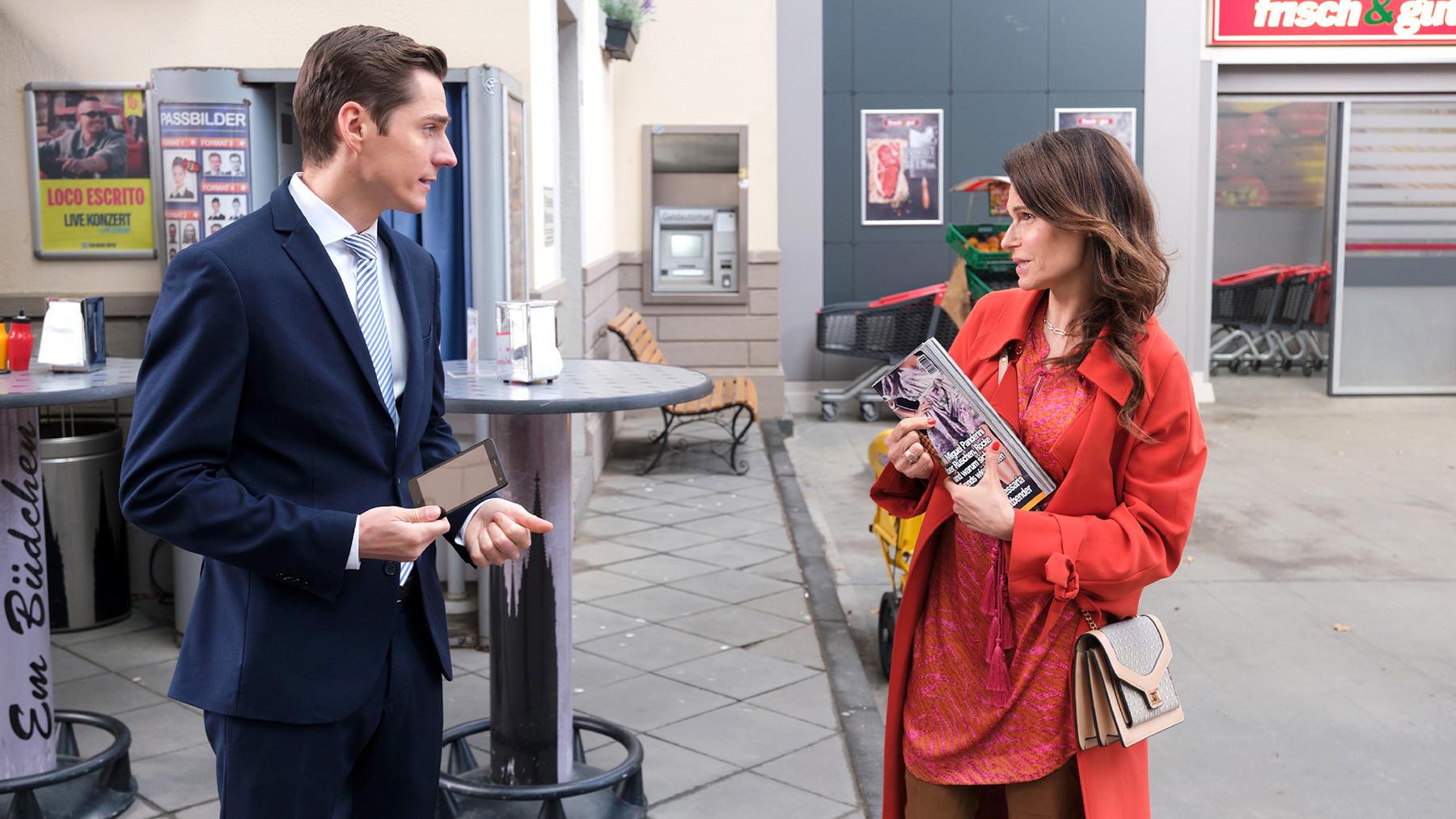 Britta hofft vergeblich auf eine Versöhnung mit Robert