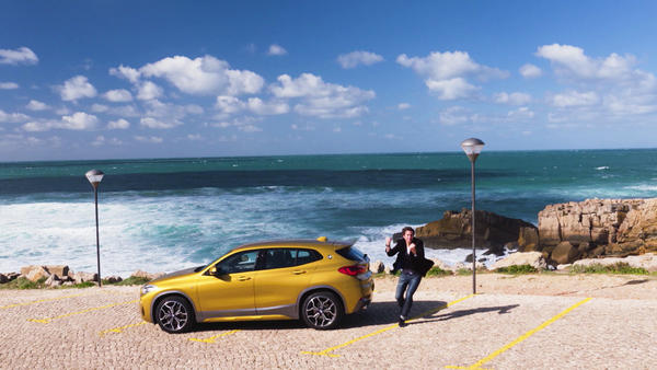 Thema u.a.: Fahrbericht: BMW X2