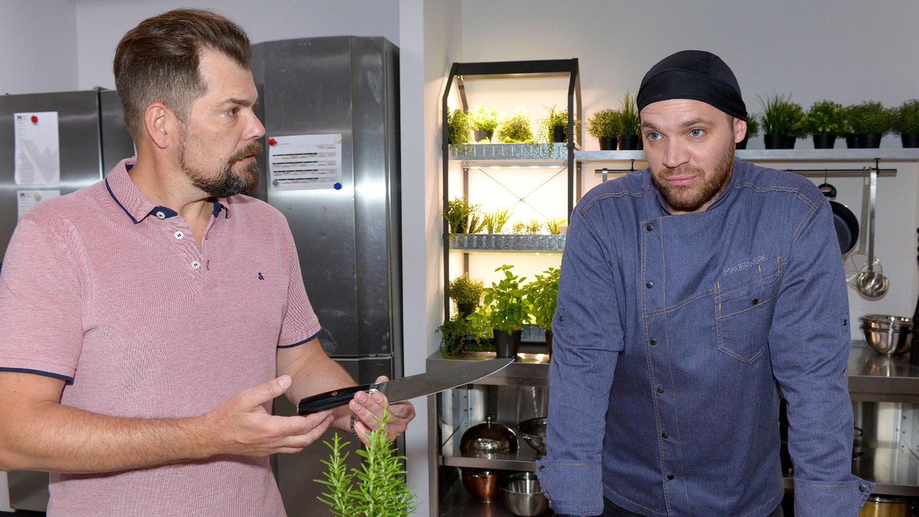 Erik bekommt ein Angebot für eine eigene Kochshow