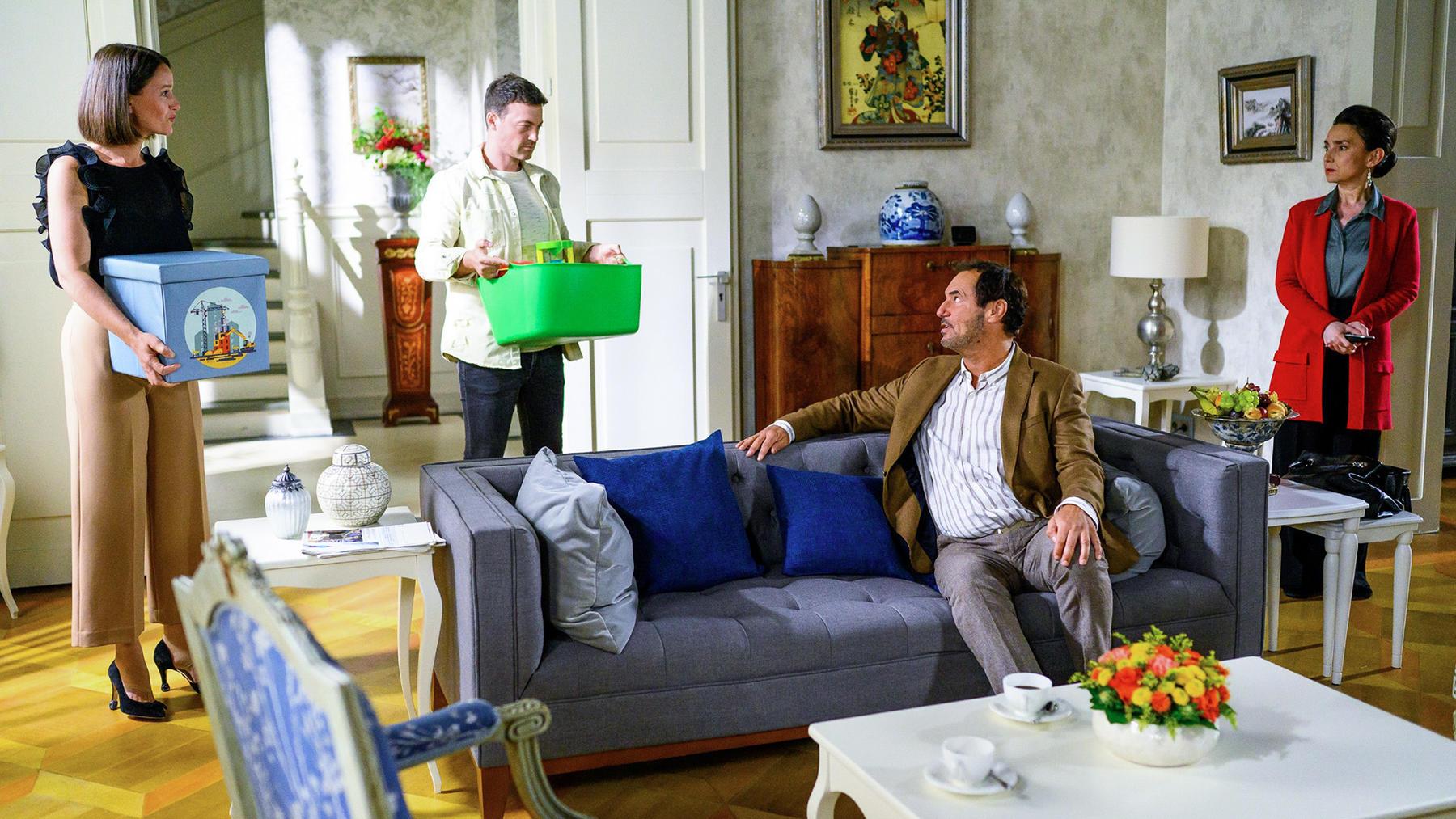 Simone und Richard stehen vor einer Entscheidung