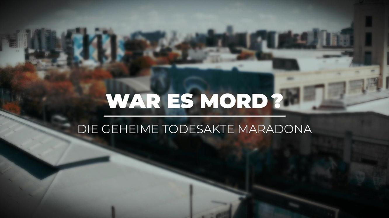 War es Mord? Die geheime Todesakte Maradona! im Online Stream   TVNOW