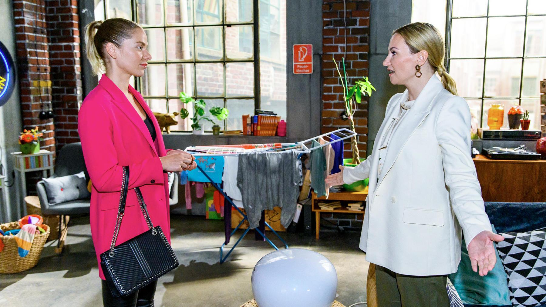 Marie und Isabelle wollen ihre Challenge neu starten