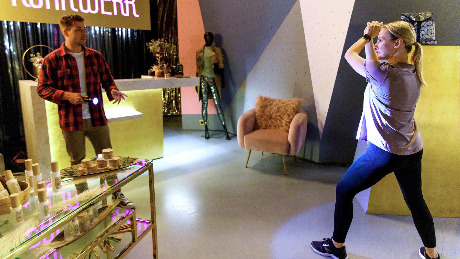 Yannick wirkt offenbar faszinierend auf Isabelle