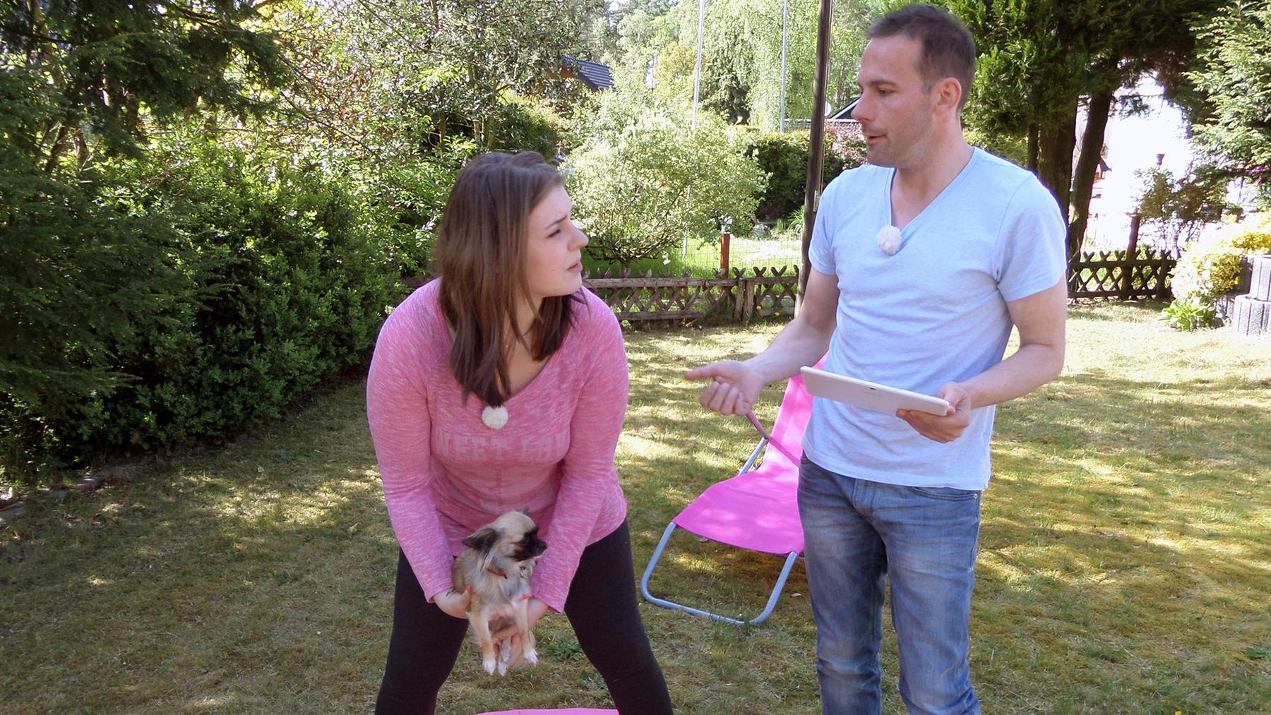 Melanie tauscht mit Gabriele