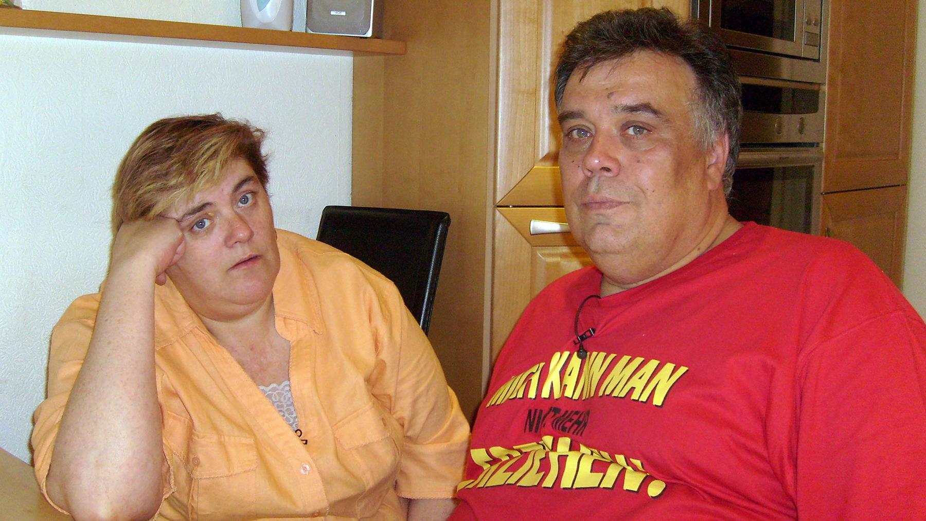 Markus 'Marcella' tauscht mit Monika