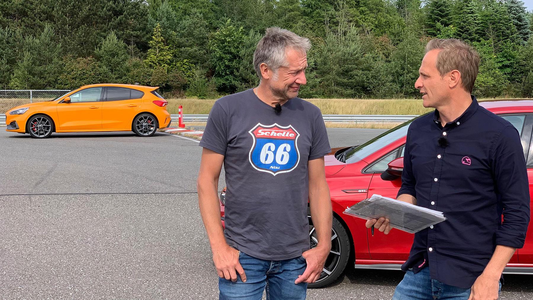 Matthias Malmedie und Niki Schelle testen vier Hot-Hatch-Konkurrenten | Folge 562