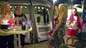 Talentshow auf dem Campingplatz