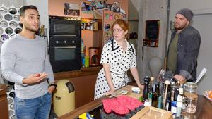 Erik beschuldigt Toni, sein Handtuch zu benutzen