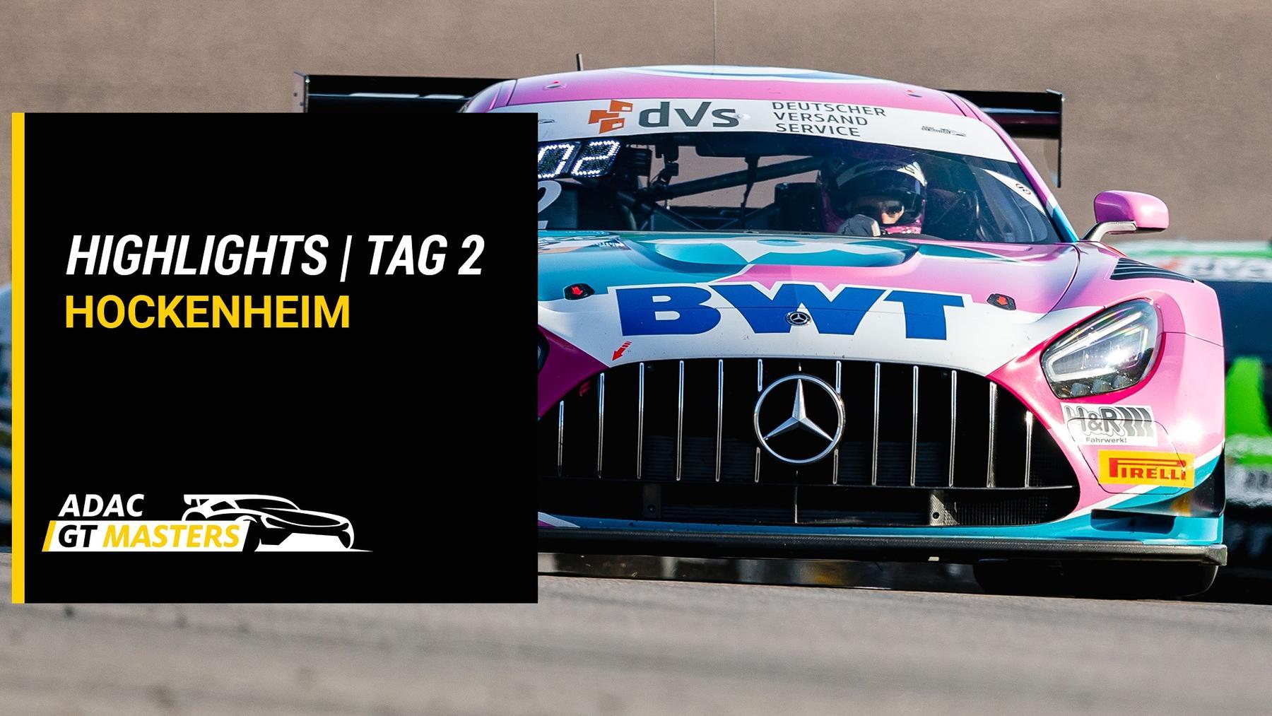 ADAC GT Masters - Highlights - Hockenheim - Tag 2