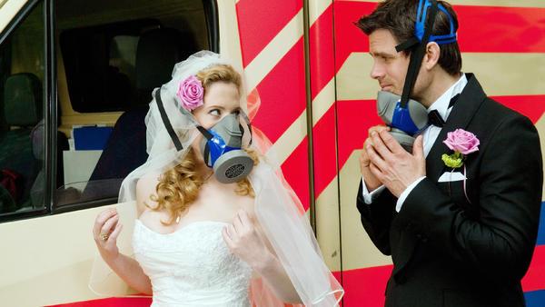 Skandal! Hochzeitsnacht zu dritt