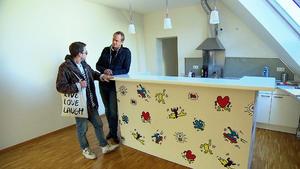 Radiomoderator sucht Single-Wohnung