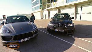 Vergleich - Porsche Cayenne Turbo Vs. BMW X5 M