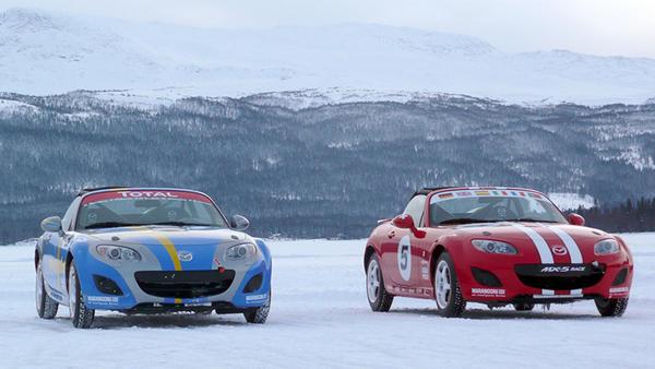 Reportage - Mazda Ice Race