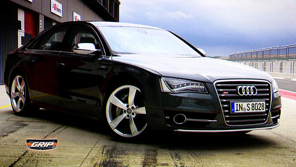 Groß, luxuriös und viel Power - Audi S8