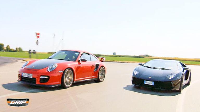 Crème de la Chrome - Lamborghini Aventador Vs. Porsche GT2 RS  Aus zweiter Hand - Det sucht Opel-You