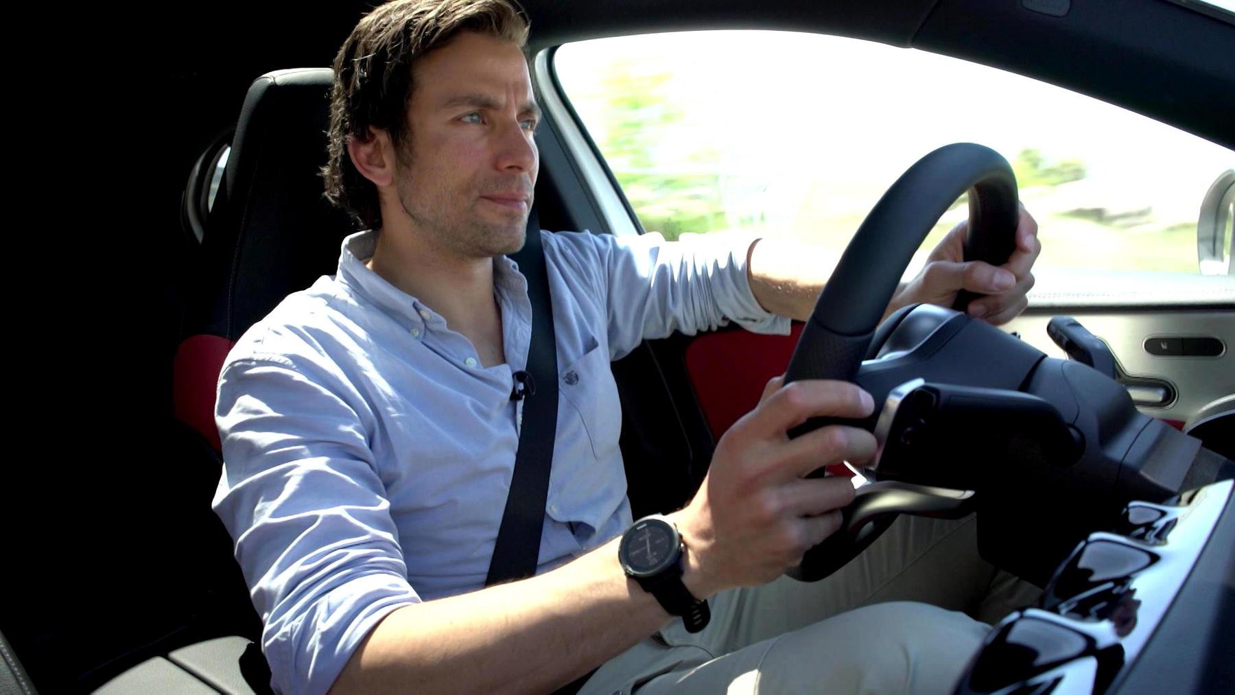 Thema u.a.: Fahrbericht: Mercedes A-Klasse mit Andy