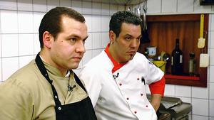 """Die Kochprofis im Restaurant """"Da Vinci"""" in Sulzbach"""