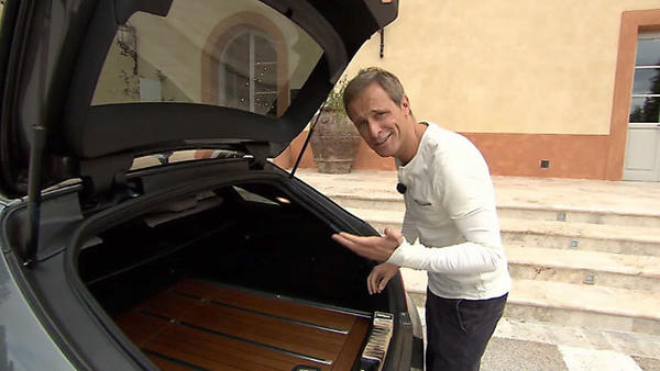 "Mercedes CLS Shooting Brake - Goodwood Revival 2012 - Det sucht ""Computerspiel-Auto"""