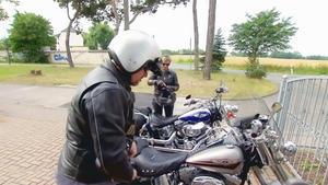 Das Motorrad-Pärchen