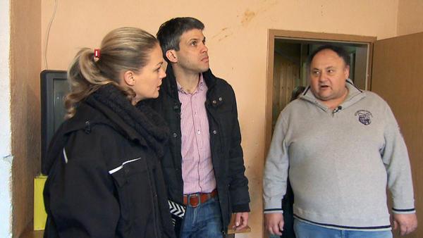 Josef wollte das alte Haus seines Vaters renovieren