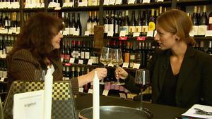 Ein Gläschen Wein für die Maklerin